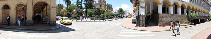 Une rue parmi tant d'autres à Cuenca