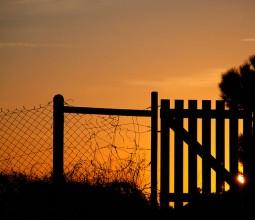 Derrière la barrière…