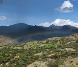 Arc en ciel à Vilcabamba, Equateur sud